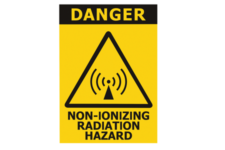 Danger Non Ionizing Radiation Hazard