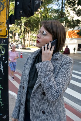 Cell phone radiation tests don't include holding the phone on your ear.
