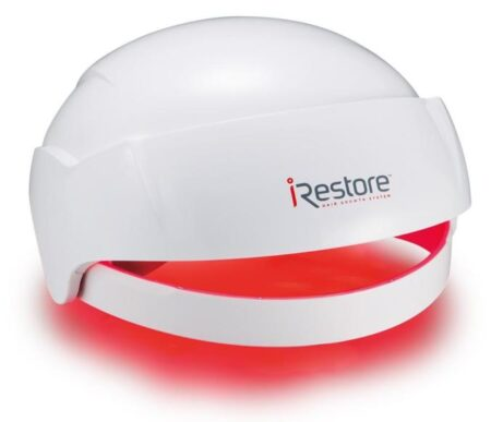 The iRestore consumer red light hair growth device
