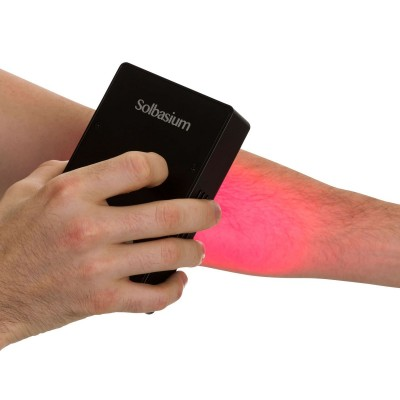 Treating an elbow with the Solbasium Bright Light