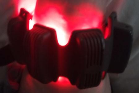 Use infrared light